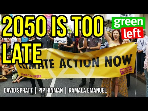 2050 is too late: the climate targets we need | Green Left Show #4