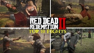 Top 10 Best Campfights in Red Dead Redemption 2
