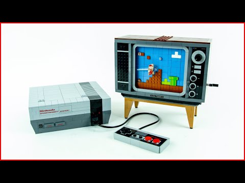 Vidéo LEGO Super Mario 71374 : Nintendo Entertainment System (NES)
