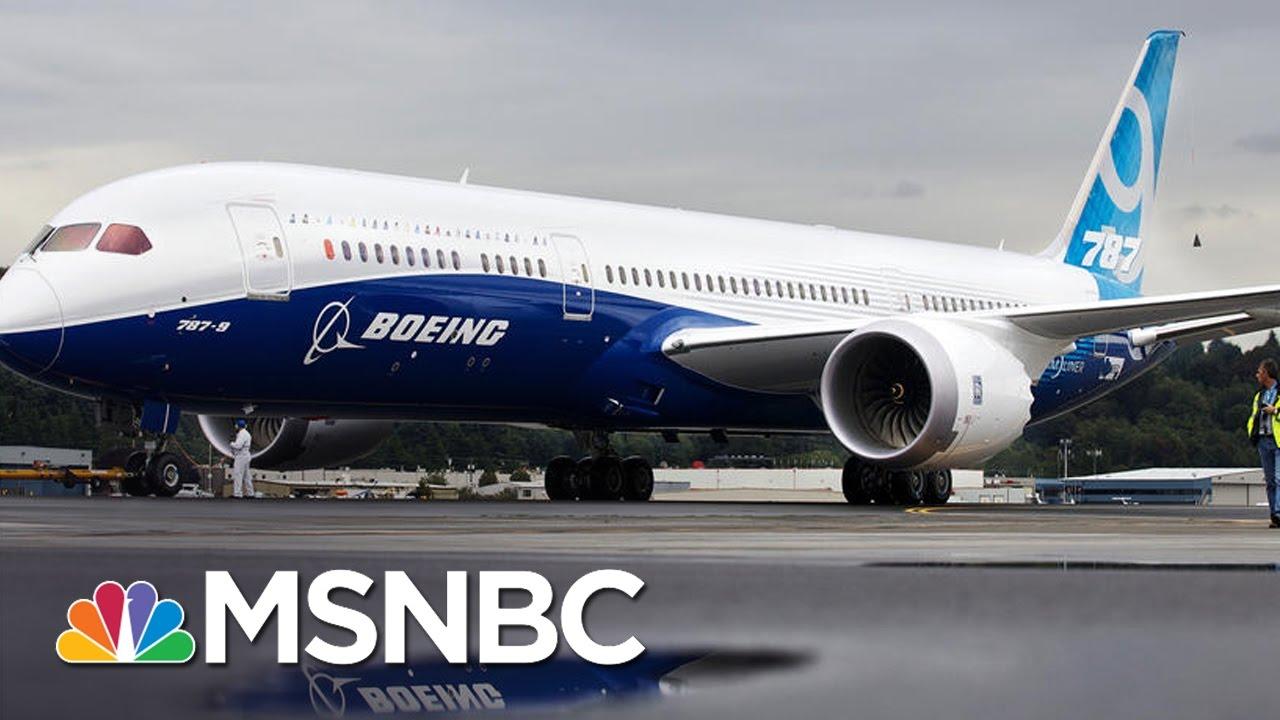 Boeing, Iran Ink $17 Billion Plane Deal   MSNBC thumbnail