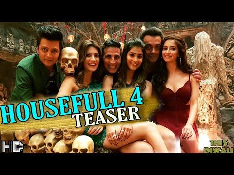 Housefull 4 Teaser | Akshay Kumar | Ritesh | Bobby | Kirti | Kriti | Pooja | 27 Oct This diwali