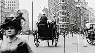 Surreal Old Timey Film Of New York City In 1911
