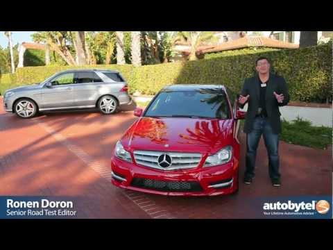 2012 Mercedes Benz C250: Video Road Test and Review