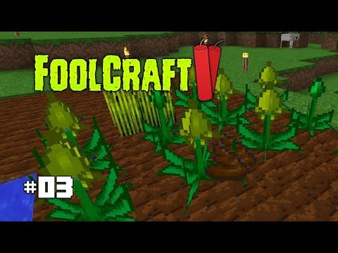 Mystical Agriculture & Crop Dusting 💩 | #3 | FoolCraft 2 (Modded Minecraft 1.10.2)