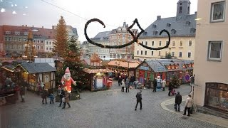 preview picture of video 'Weihnachtsmarkt (Christmas Market) in Annaberg-Buchholz/Erzgebirge'