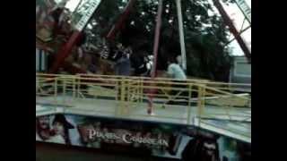 preview picture of video 'Piráti z Boleradic (Hody 2012 pondělí ráno)'