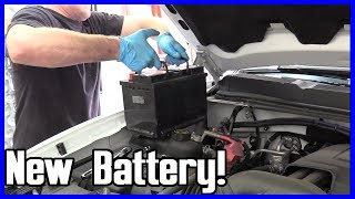 Battery Replacement Chevrolet Silverado