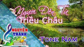 [Karaoke nhạc sống] Người Đến Từ Triều Châu 1 - Tone Nam