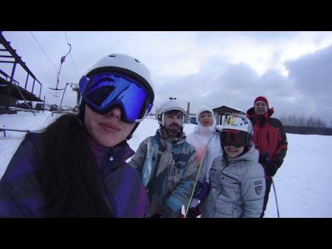 Видео: Видео горнолыжного курорта Шиболово - Горки в Московская область