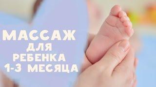 Массаж для ребенка 1-3 месяца от  [Любящие мамы]