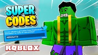 roblox promo codes 2019 superhero simulator - TH-Clip