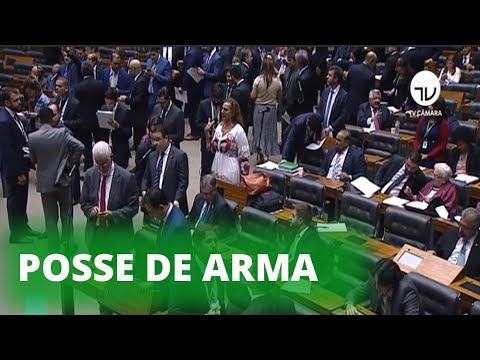Câmara aprova posse de arma em toda a extensão do imóvel rural – 21/08/19