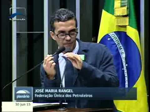 José Maria Rangel (FUP) diz por que é contrário ao PLS 131/2015