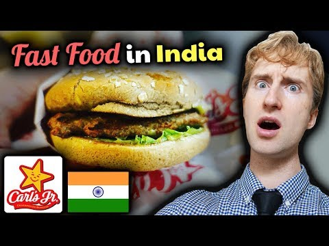 CARL'S JUNIOR in India // SAVAGE Review of New Delhi Burgers // Fast Food Review