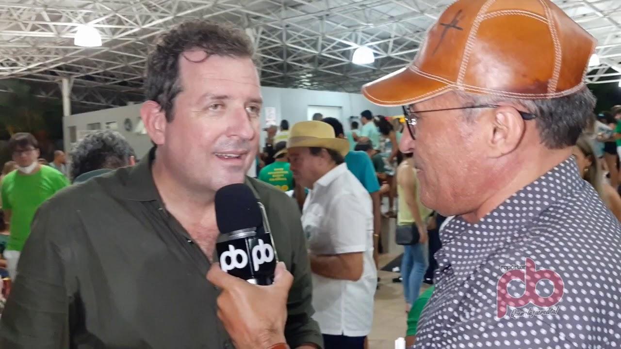 Entrevista com Prefeito Fabio Tyrone após reeleição na cidade de Sousa-PB