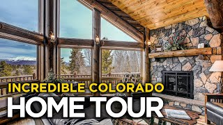 Colorado Log Home Mountain Living
