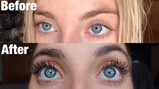 GROW YOUR EYELASHES: 30 Days Of Castor Oil For Eyelash Growth | Morgan Green