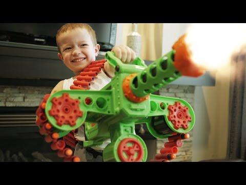 Hình ảnh Youtube -  Nerf War: Gun BABY 6!