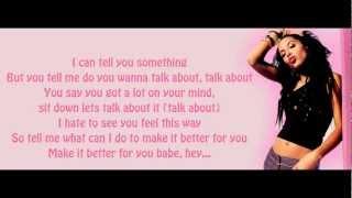 Aaliyah ft. Drake- Enough Said HD Lyrics On Screen