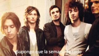 The Strokes - Fear to Sleep Subtitulada español