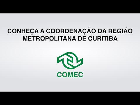 A Coordenação da Região Metropolitana de Curitiba - Comec