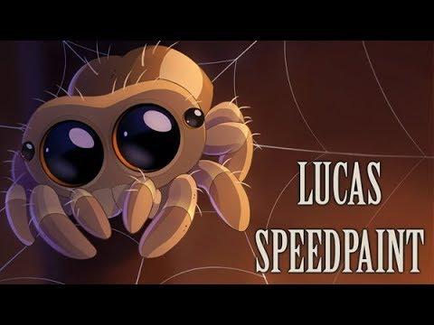 Lucas the Spider fanart - Speedpaint