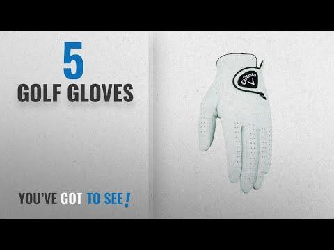 Top 10 Golf Gloves [2018]: Callaway Men's Dawn Patrol Golf Glove, Large, Left Hand
