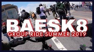 BAESK8 Summer 2019 Group Ride on City Scrambler | FPV GoPro