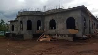 Начало строительства подворья (видео)