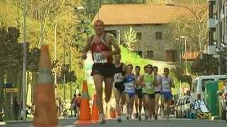 preview picture of video 'Media Maratón Azkoitia-Azpeitia 2008'