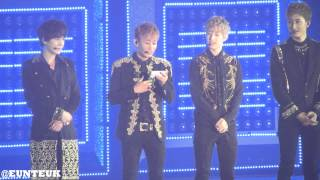 130615 Super Junior Super Show 5 In Hong Kong - Eunhyuk Intro (Speaking Cantonese)