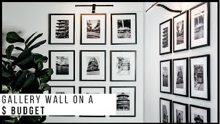 DIY Gallery Wall | Dollar Tree Hacks