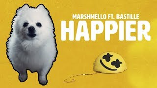 MARSHMELLO Ft. BASTILLE   'HAPPIER' Em CACHORRÊS