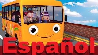Las ruedas del autobús | Parte 5 | Canciones infantiles | LittleBabyBum