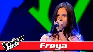Freya synger: Naughty Boy ft. Sam Smith –  'La La La' - Voice Junior / Blinds