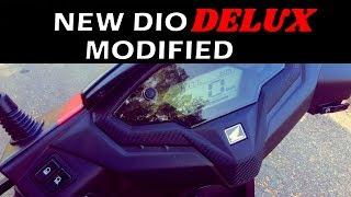 Honda Dio Delux 2019 New Modifications