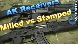 AK47 Milled Vs AKM Stamped Receivers