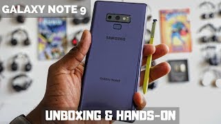 Samsung Galaxy Note 9 Unboxing & First hands-on Experience!!