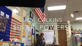Lucy Calkins: Grade K, Unit 2, Session 7