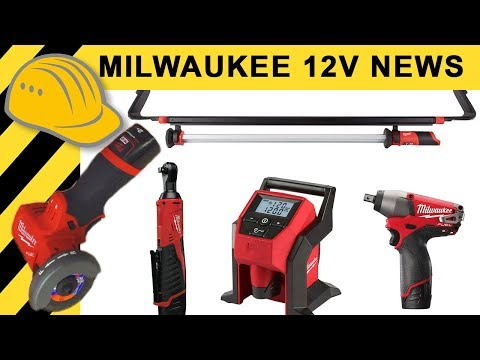 12V besser als 18V? Milwaukee Neuheiten - TEIL 3