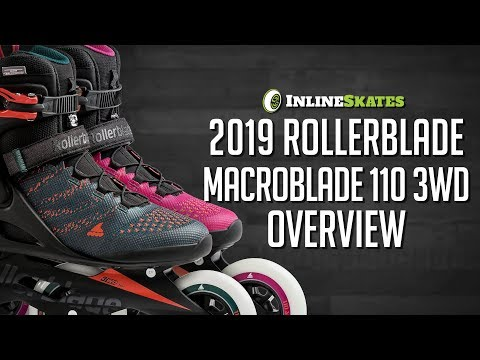 Video: 2019 Rollerblade Macroblade 110 3WD Men