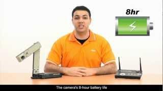 Document Camera Avervision W30 wireless bagus dan murah digunakan semua projector