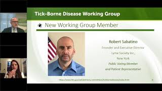 Tick-Borne Disease Working Group Meeting - May 10, 2018