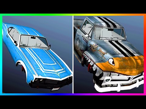 GTA 5 DLC Lowriders Part 2 Vehicles - 6 NEW Lowrider Car Versions Coming In Future Update! (GTA 5)