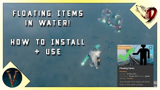 Floating Items in Water Valheim How to Install and use Floating Items Mod
