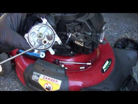 EXPERT! REBUILD a Briggs and Stratton Lawnmower AUTOMATIC CHOKE CARBURETOR