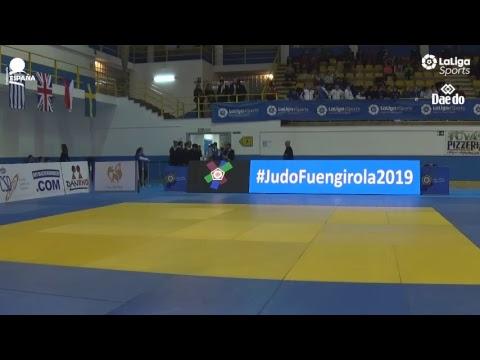 Cadet European Judo Cup Fuengirola 2019 - Mat 1 - Day 1 (видео)