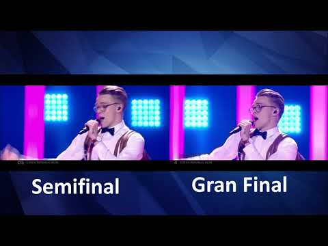 Mikolas Josef - Lie To Me - Czech Republic - LIVE - Grand Final -semifinal - Eurovision 2018