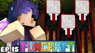 SLENDER MAN in Minecraft?! | FunCraft Ep. 15