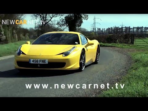 Ferrari 458 Italia video trailer